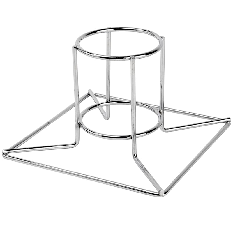 Chrome Plated Beer Can Chicken Cooker Rack