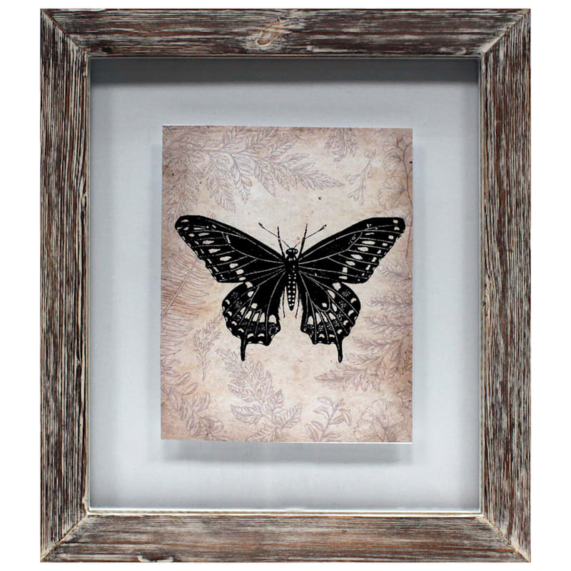 13In.X15In. Brown Float Weathered Frame