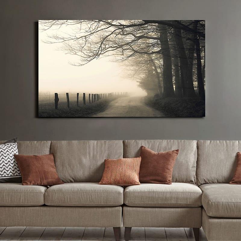 60X36 Hyatt Lane Canvas Art