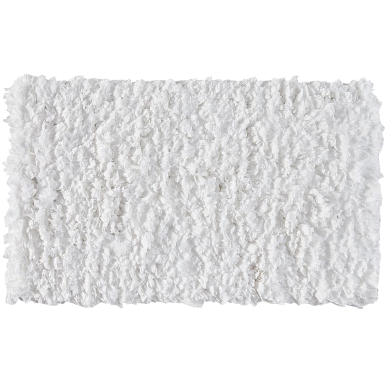 PAPER SHAG WHITE 27X45