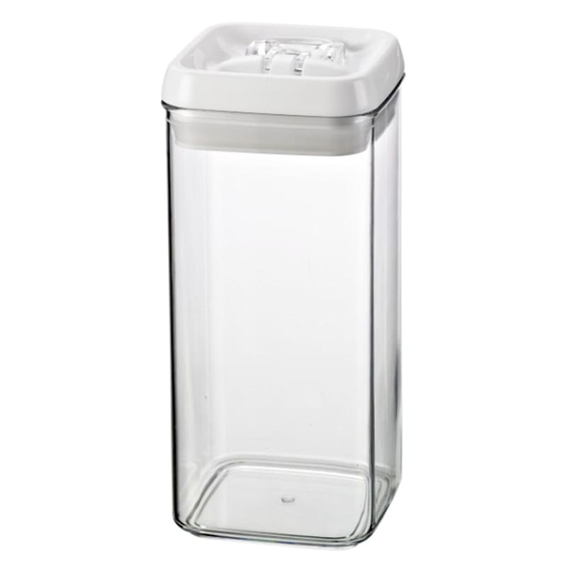 Flip Tite Small Stackable Airtight Bpa Free Acrylic Canister