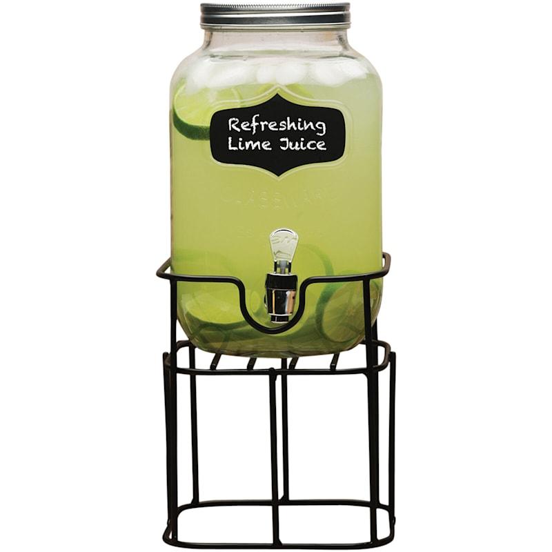 Yorkshire 1 Gallon Drink Dispenser On Metal Stand