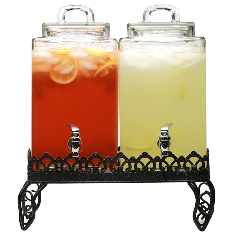 Mirage Dual Drink Dispenser 2.5 Gallons