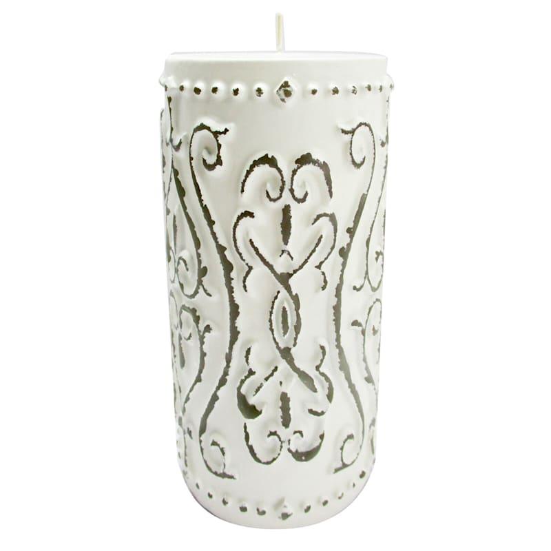 3X6 Vintage Pillar Candle
