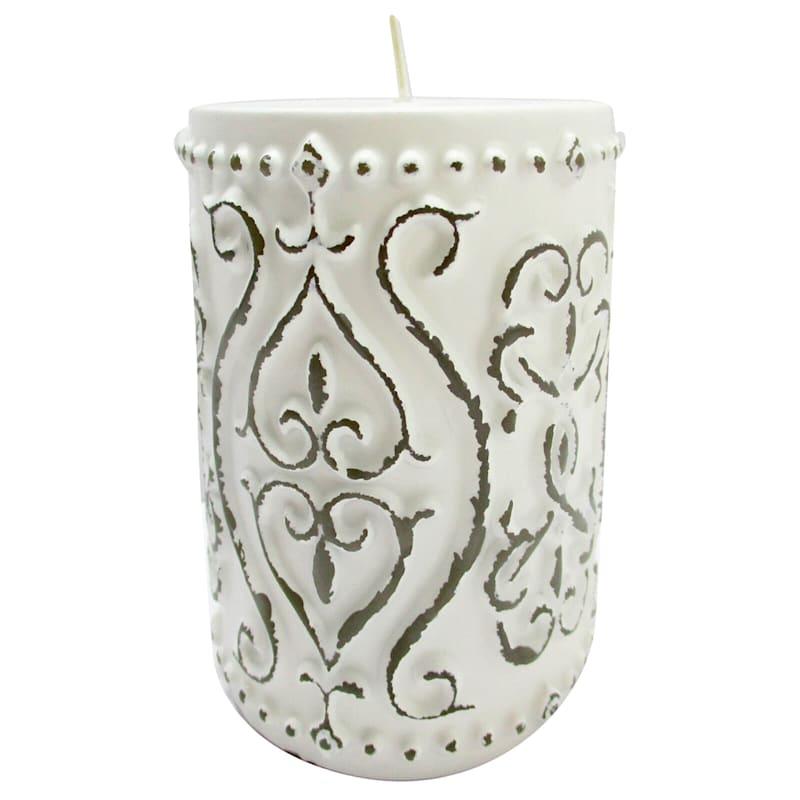 3X4 Vintage Pillar Candle