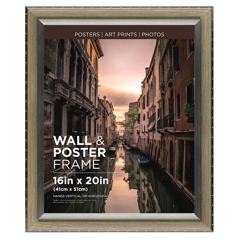 16X20 Greywash Poster Frame