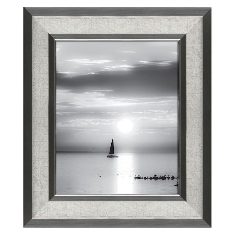 8X10 Greywash Wall Frame
