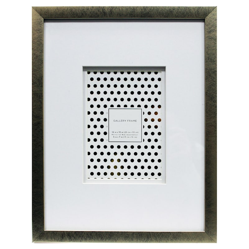10X13 Matted To 5X7 Champagne Wall Frame