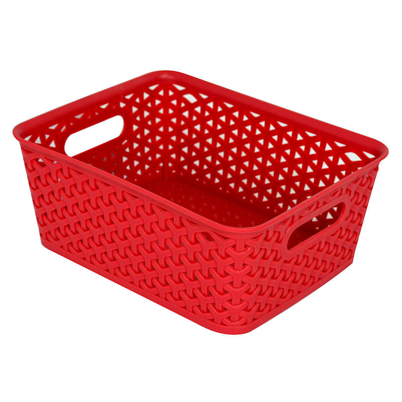 10X8 Basket Red