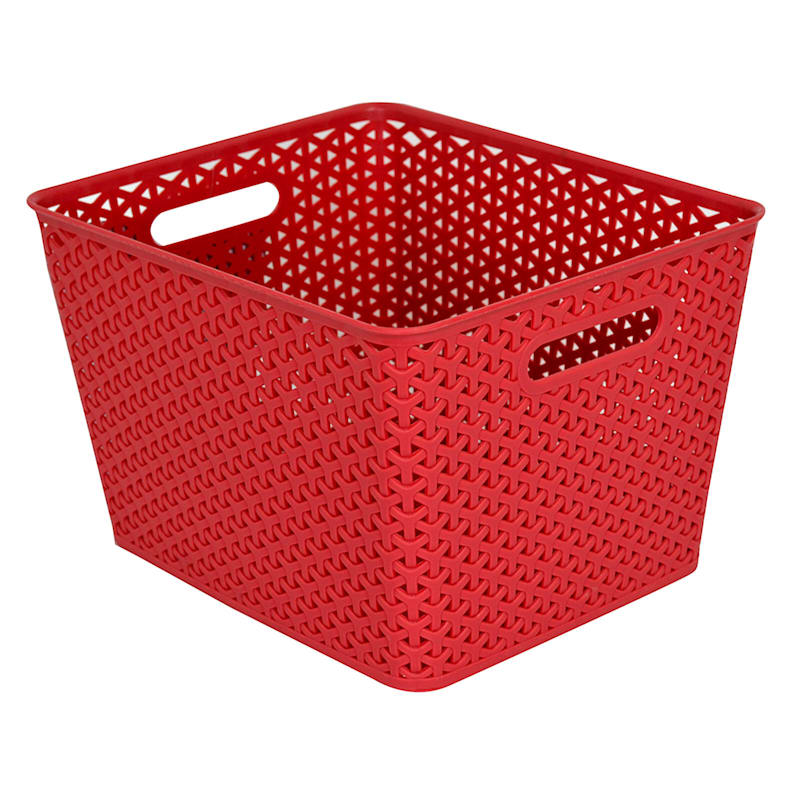 14X11 Red Basket