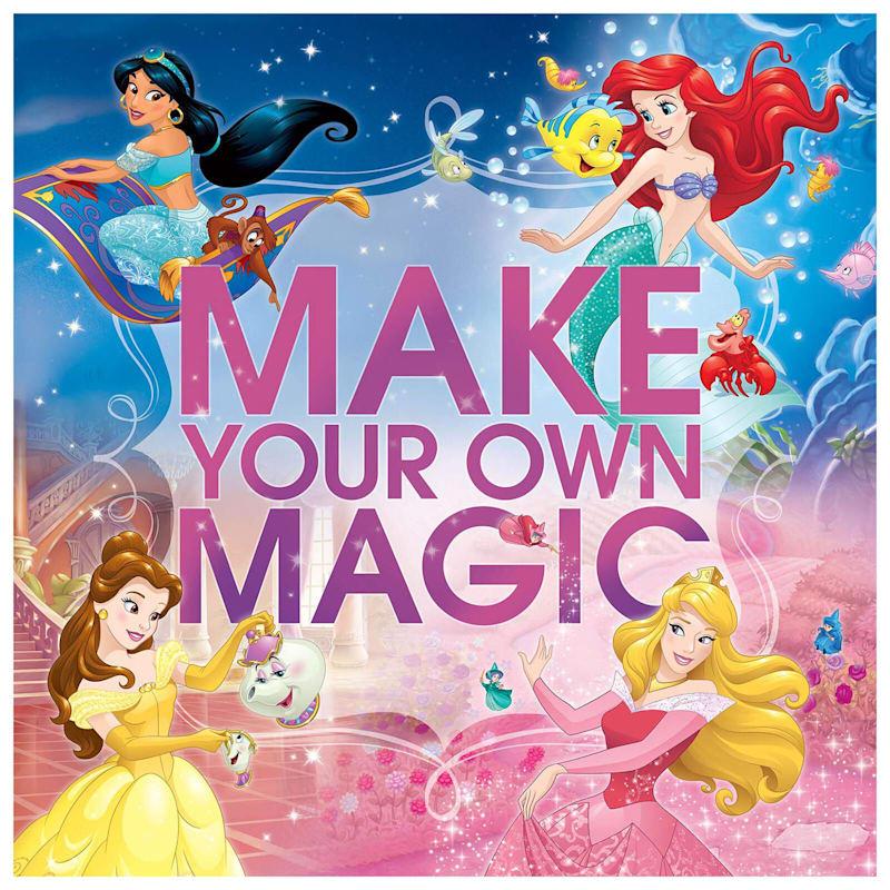 12X12 Disney Princess Make Your Own Magic Canvas