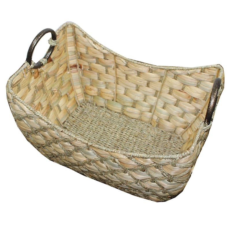 Water Hyacinth Boat Seagrass Dimond M