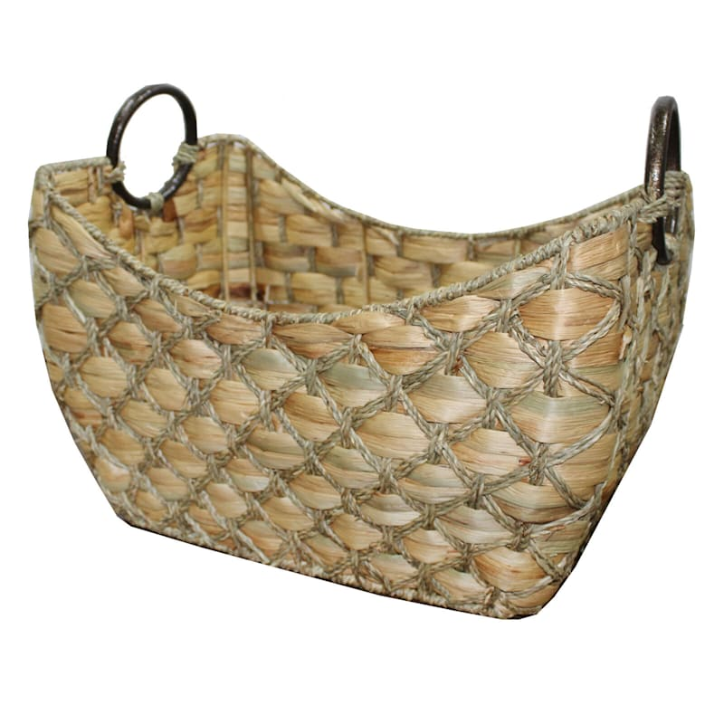 Water Hyacinth Boat Seagrass Dimond L