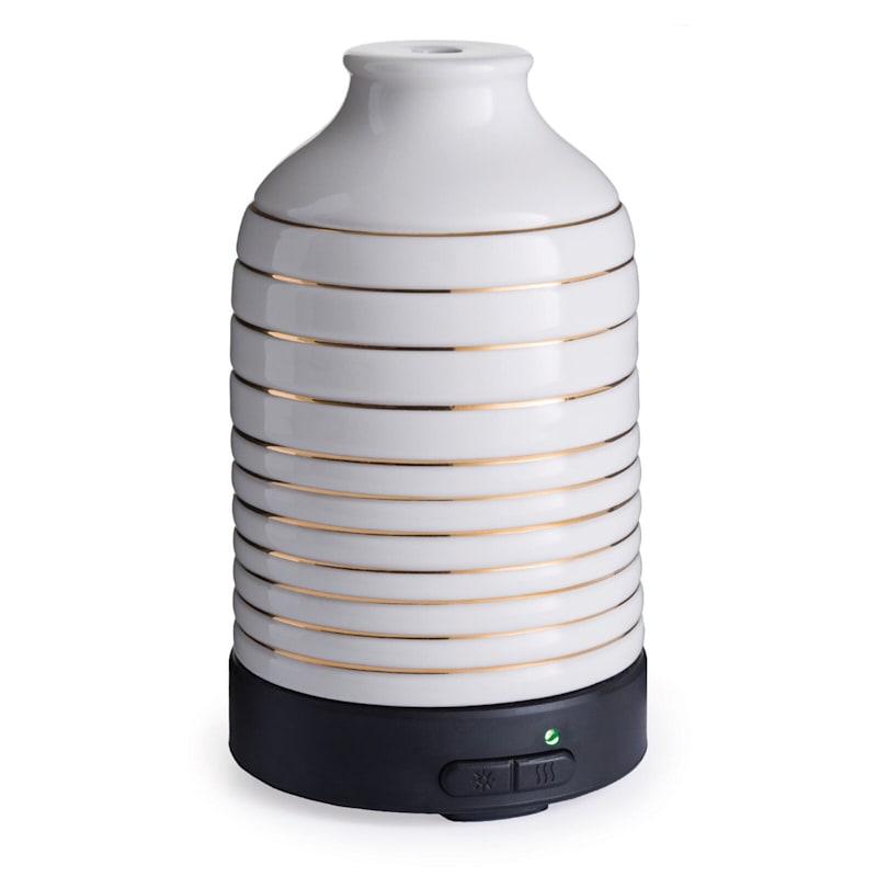 White/Gold Essential Oil Diffuser