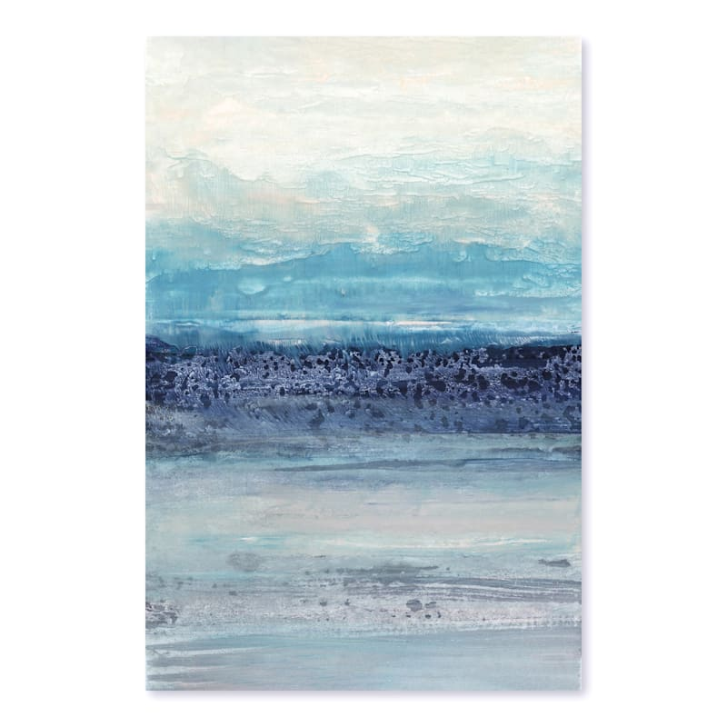24X26 Abstract Blue Serenity Canvas