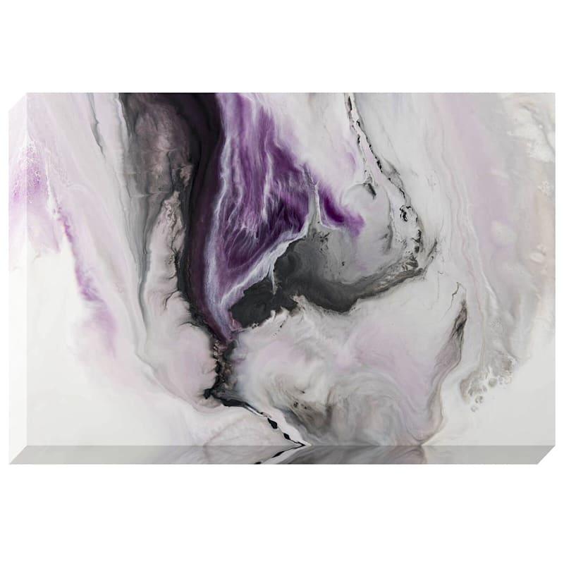 "Purple Storm on Canvas Wall Art, 24"" x 36"""
