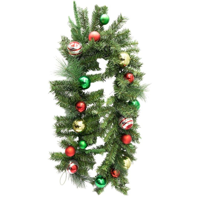 Ornaments Garland, 6'