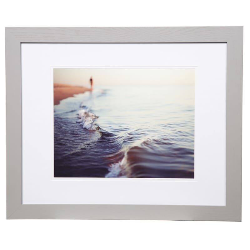Pick And Mix 16X20 Matted To 11X14 Air Float Mat Linear Photo Frame