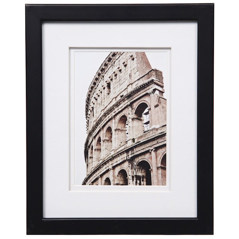 Pick And Mix 8X10 Matted To 5X7 White Mat Linear Photo Frame
