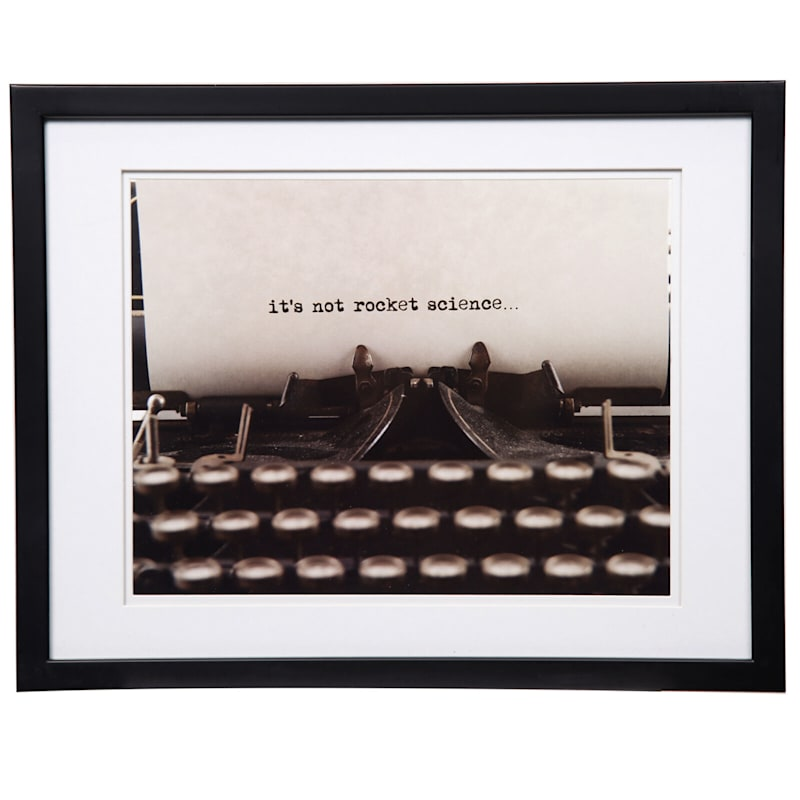 Pick And Mix 14X18 Matted To 11X14 White Mat Linear Photo Frame