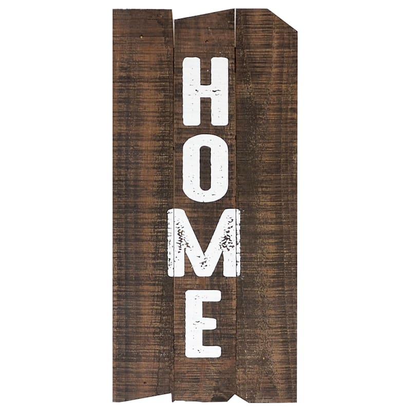 9X20 Home Wood Wall Art