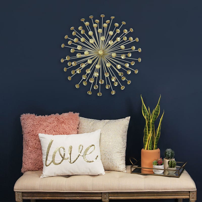 24in. Acrylic Burst Wall Decor