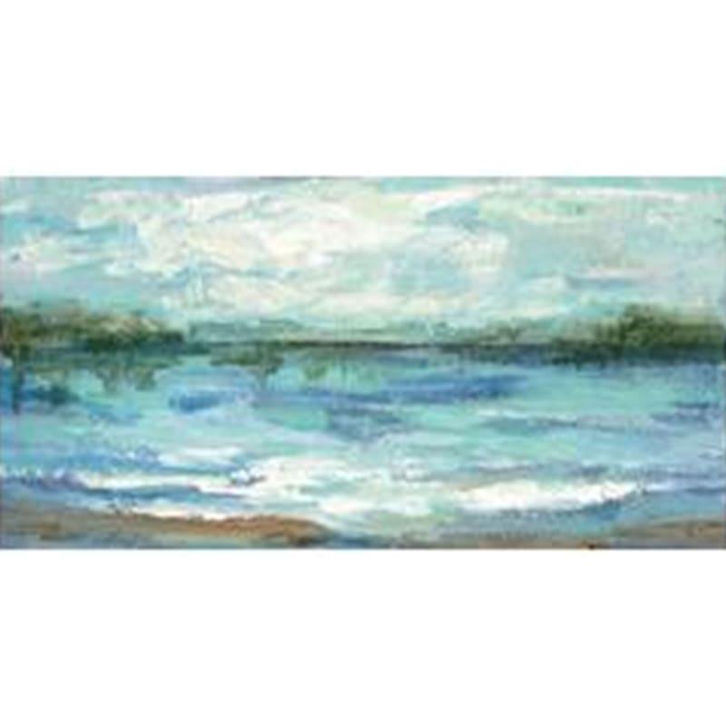 36X60 Mirrored Sky Landscape Canvas Art