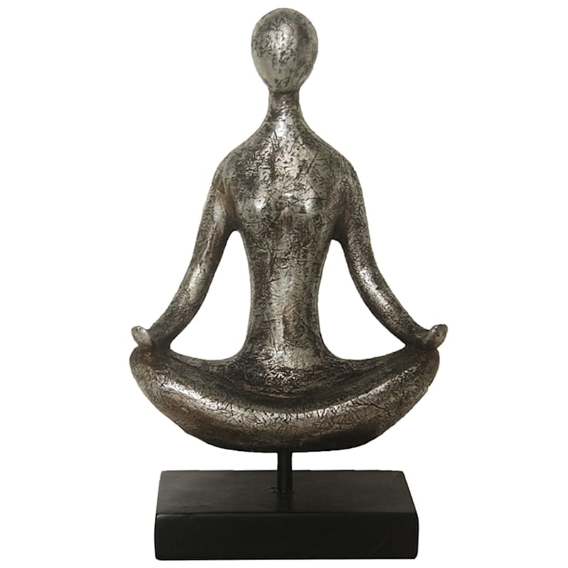 12in. Resin Yoga Figurine