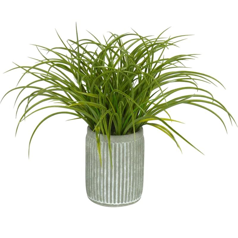 18in. Grass In Pot