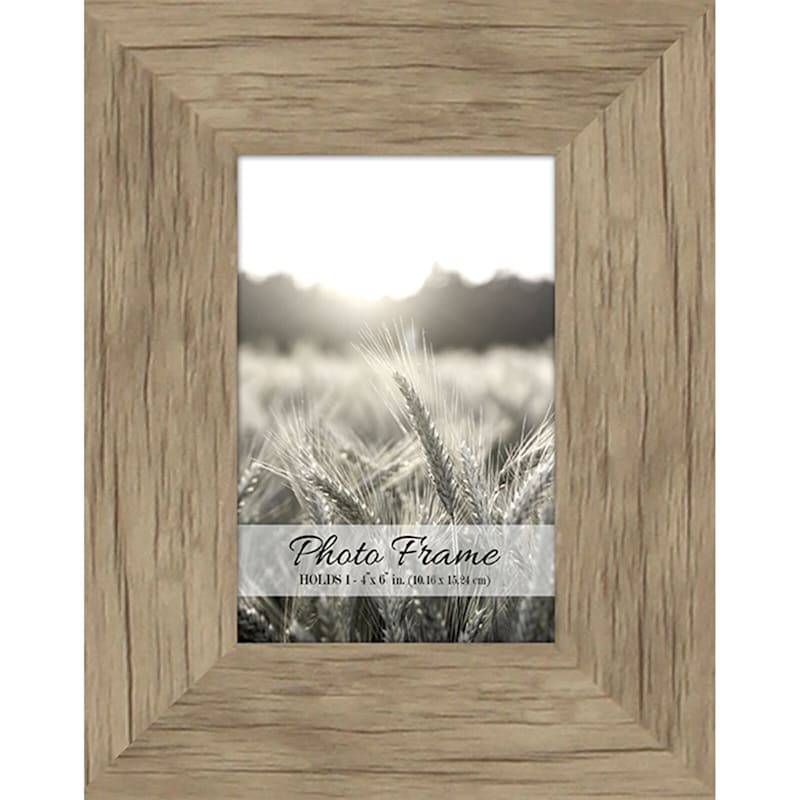 4X6 Driftwood Farmhouse Photo Frame