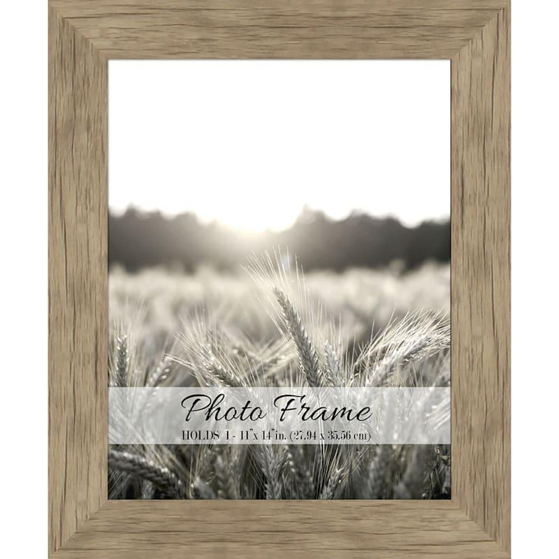 11X14 Driftwood Farmhouse Photo Frame