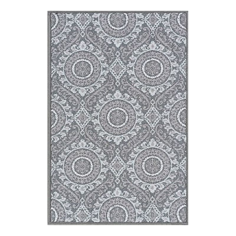 (D375) Traditional Medallion & Geometric Pattern Area Rug Area Rug 3X4
