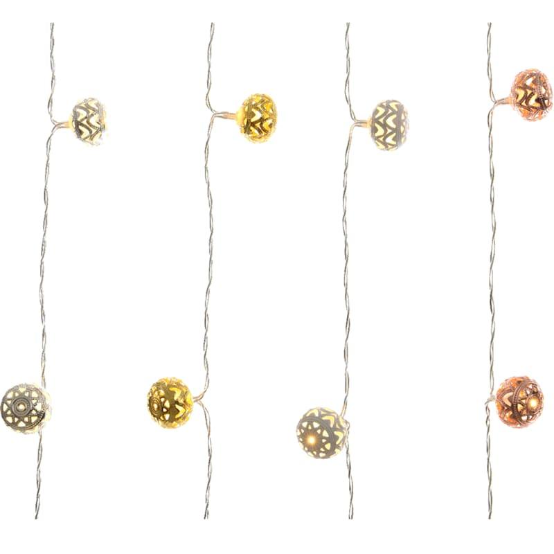 20in. Lumens Led Ball String Lights