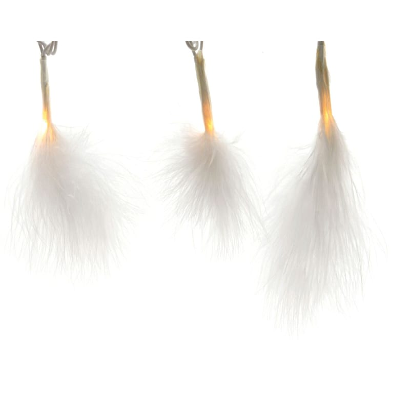 20in. Lumens Led Feather String Lights
