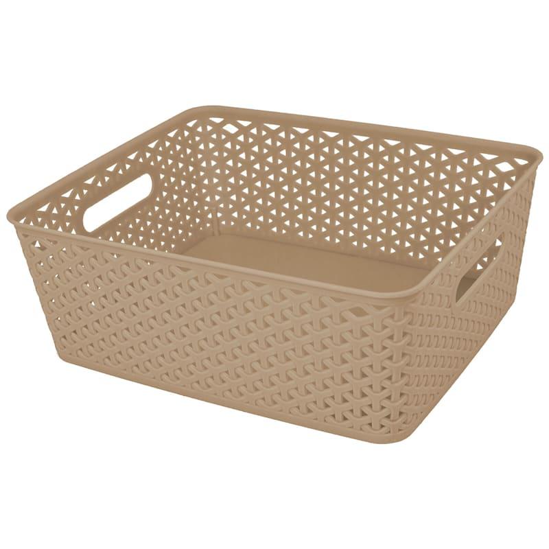 14X11 Taupe Basket