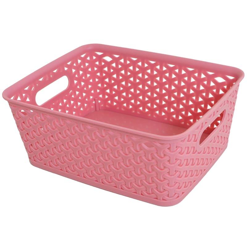 10X8 Basket Pink