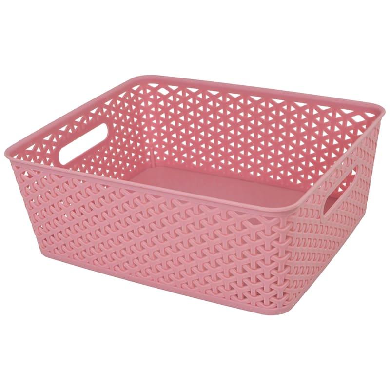 13.75X11 Basket Pink