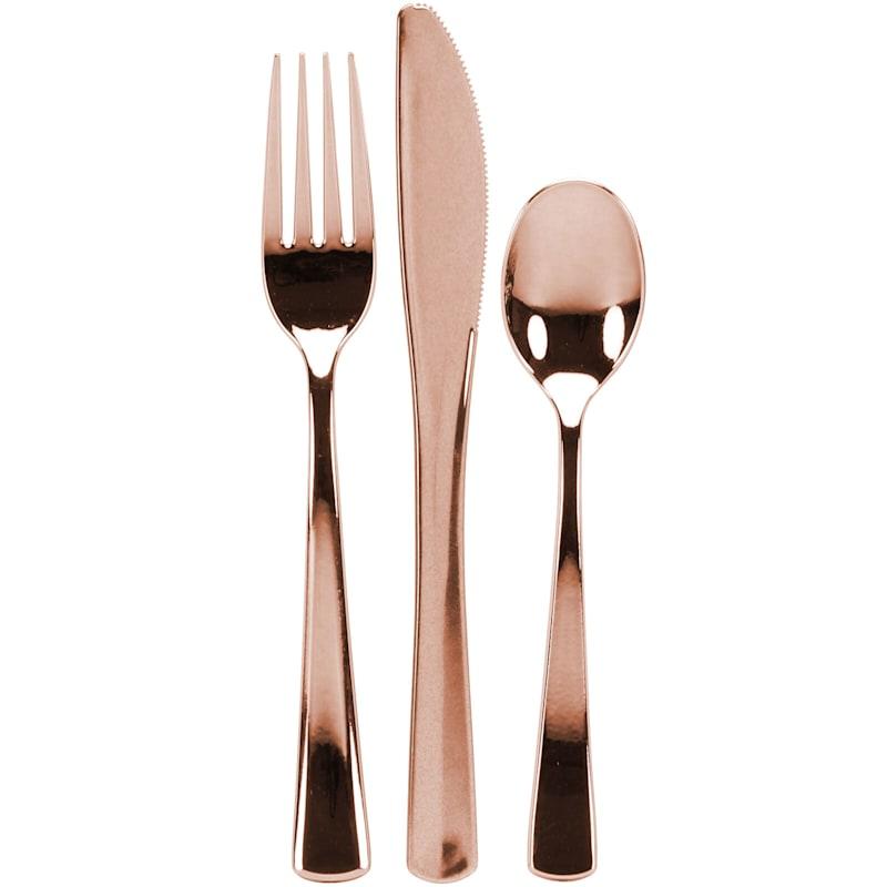 Combo Cutlery Rose Gold Box