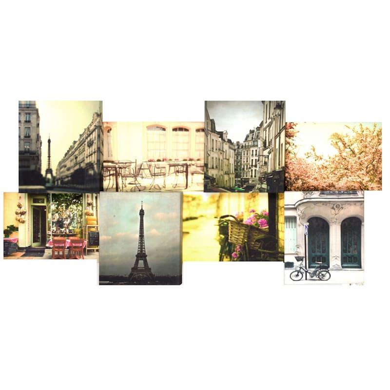 34X18 Paris Canvas Art