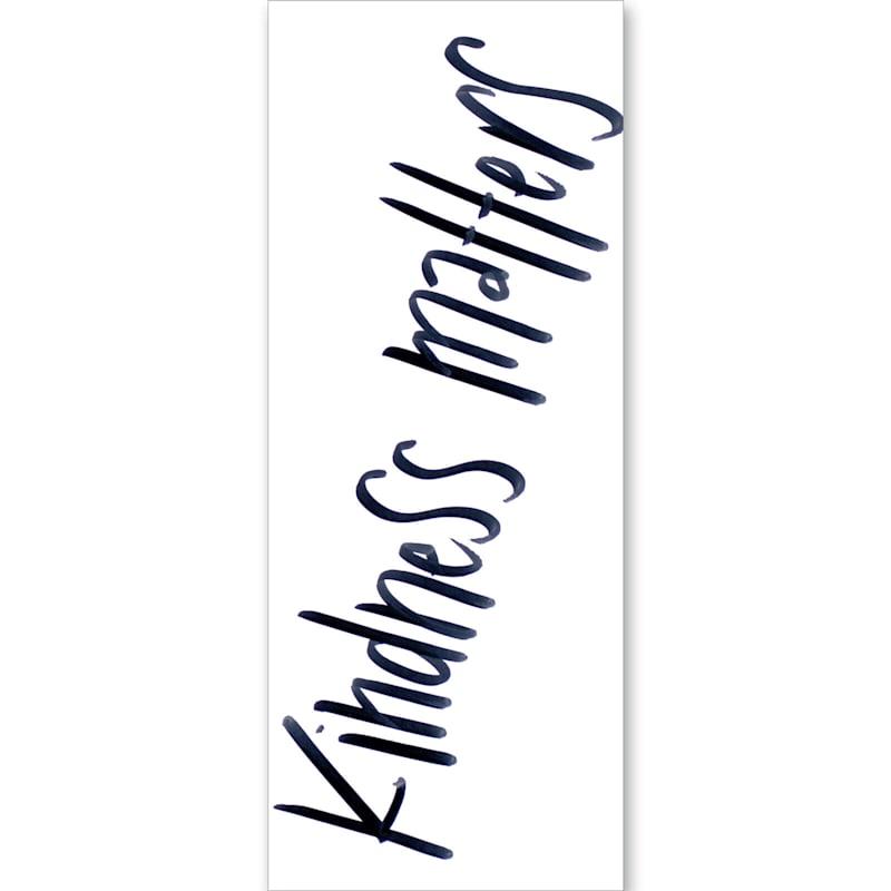 Kindness Matters Wall Art- 8 x 20-in