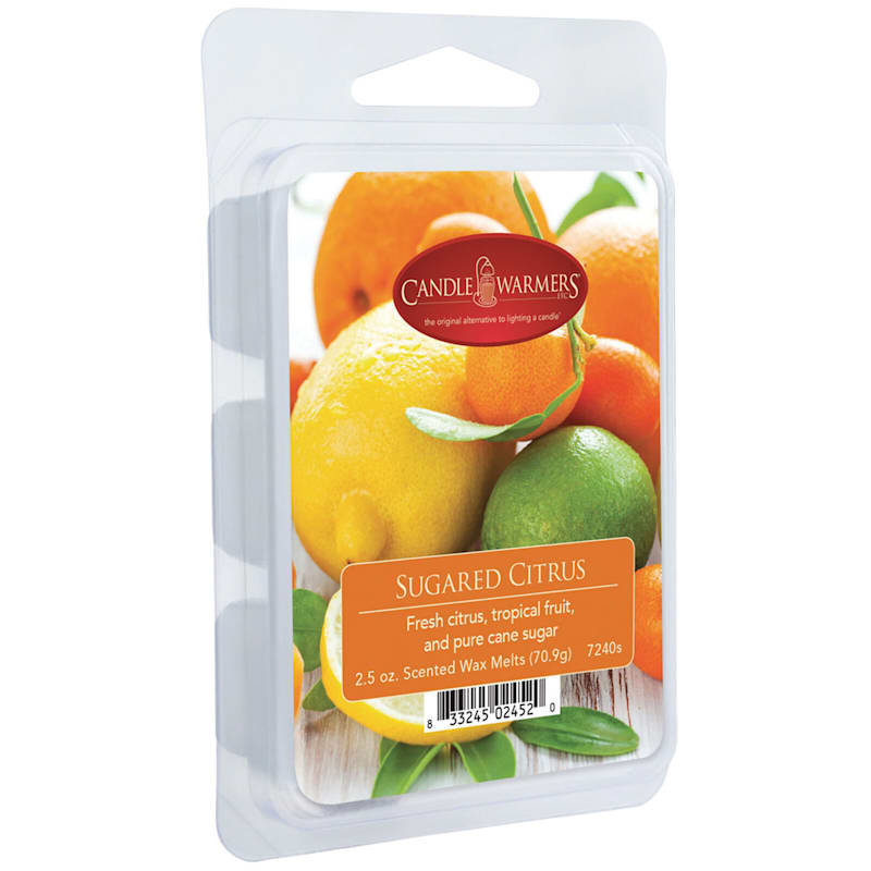 Fragrant Citrus Orange Wax Melt