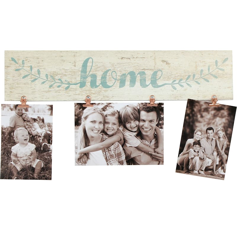 18X4 Home Photo Clip Collage Holds (X2) 4X6 And (X1) 7X5 Photos