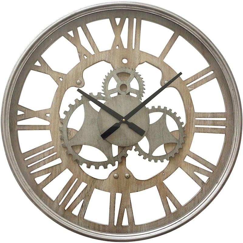 23in. Wheel Wall Clock