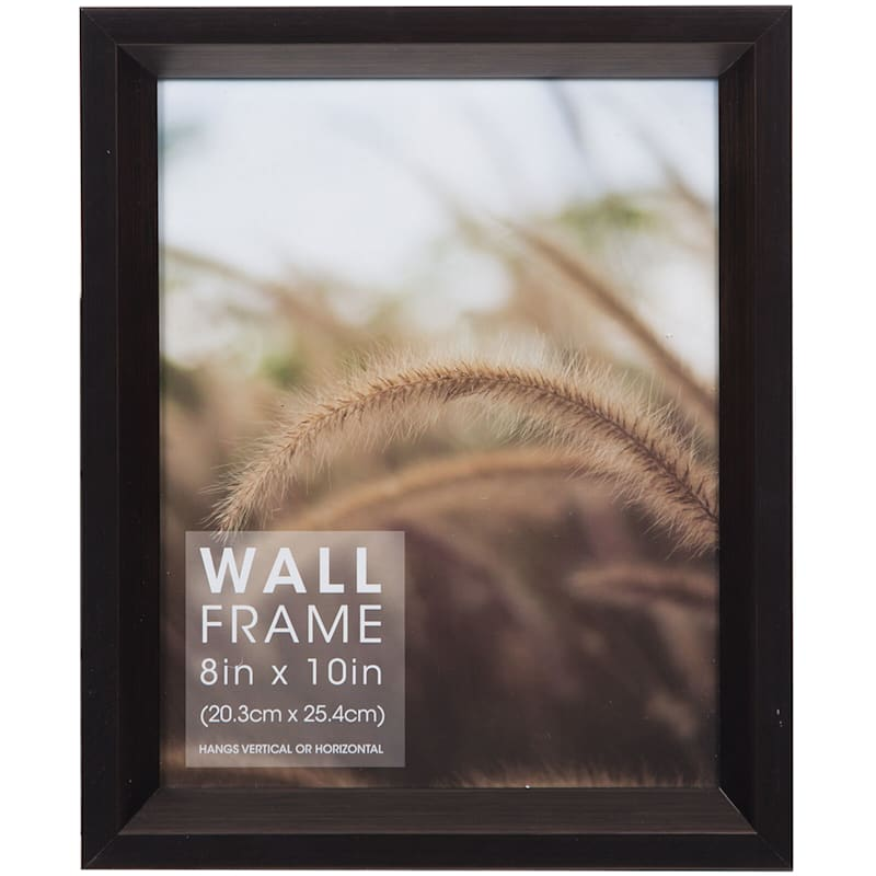 8X10 Bronze Deep Slant Profile Photo Wall Frame