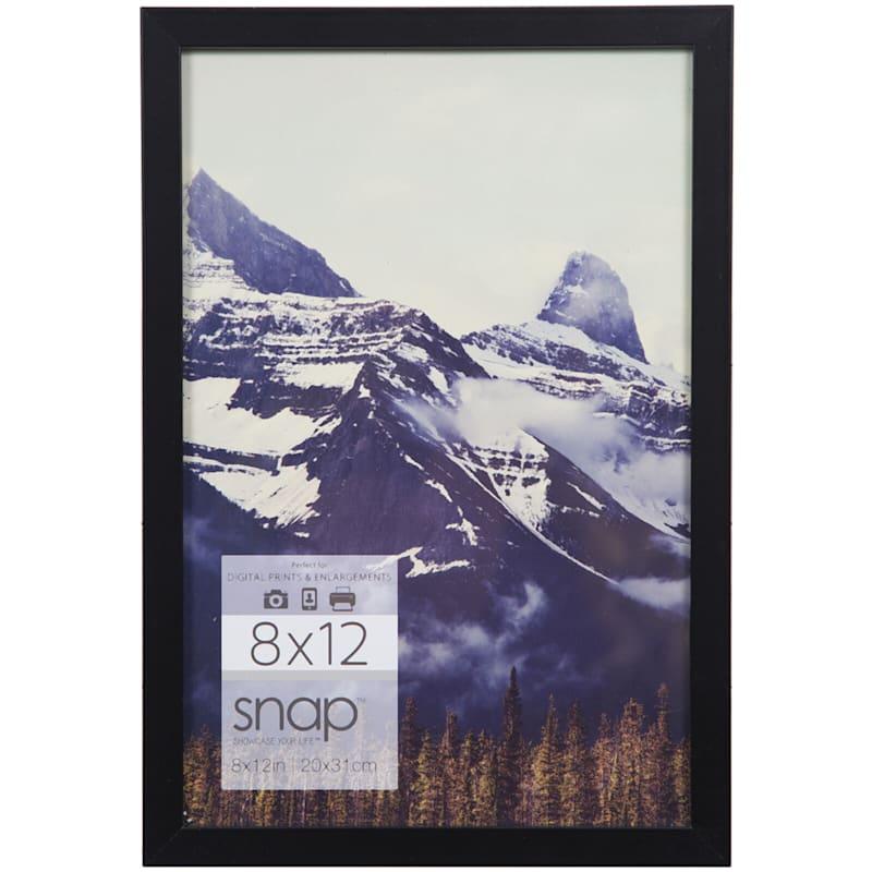 8X12 Black Linear Profile Photo Wall Frame