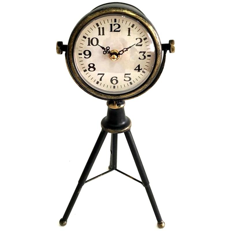 7X14 Tripod Clock