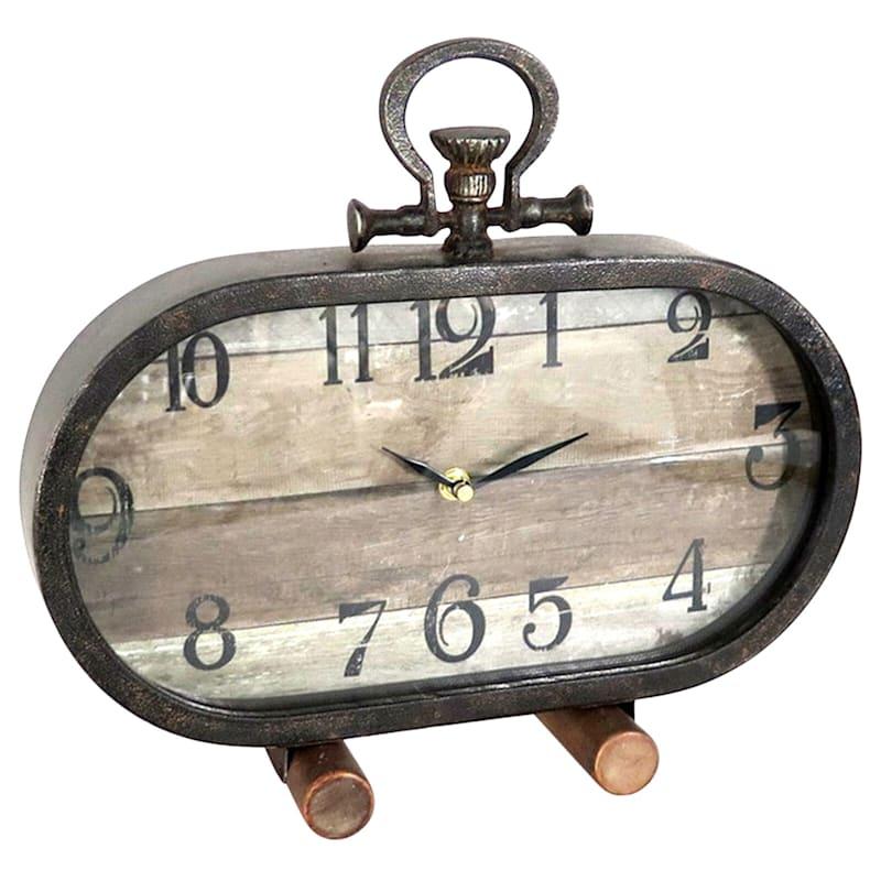 14X4 Oblong Clock