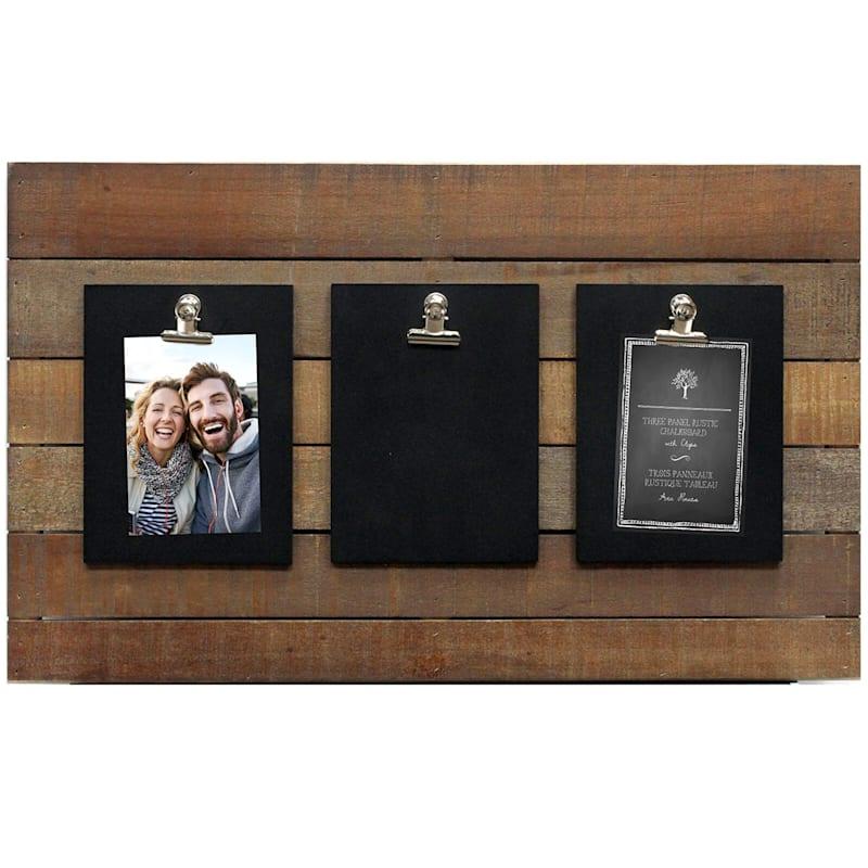 24.5X15 Natural Clipboard Frame