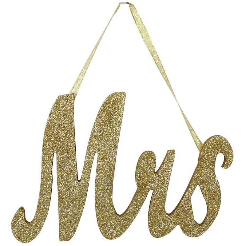 12X8-IN. GOLD MIRS SIGN