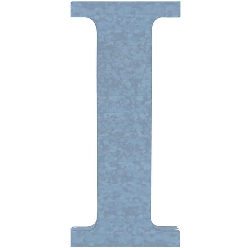 PB 18 GALV RIBBED I BLUE